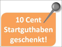 10 Cent Startguthaben