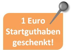 1 Euro Startguthaben